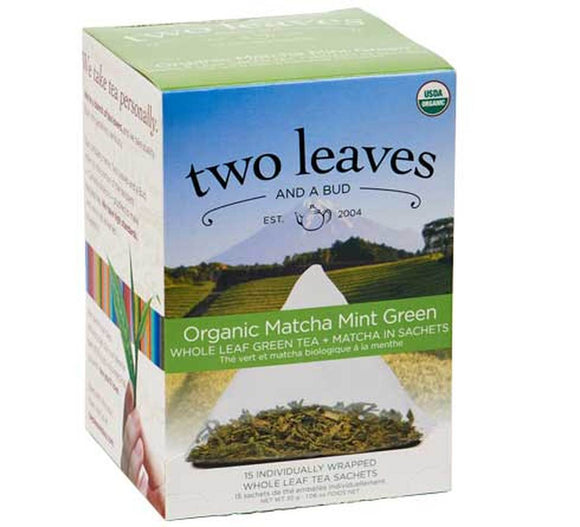Organic Matcha Mint Green - 15ct