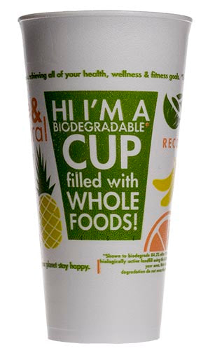 12oz PFC Logo Foam (VIO) Cups 1000ct