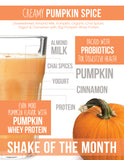 Shake of the Month Kit - Creamy Pumpkin Spice
