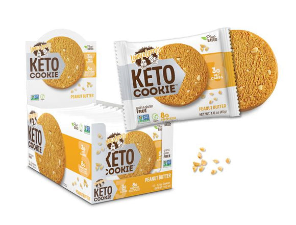 Lenny & Larry's Keto Peanut Butter Cookie - 12ct