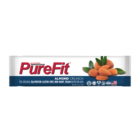 PureFit Almond Crunch Bar - 15/box