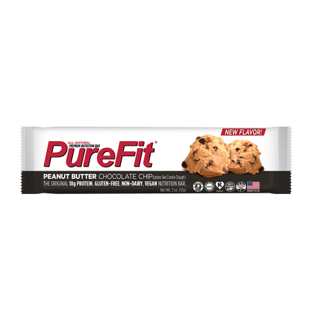 PureFit Peanut Butter Chocolate Chip Bar - 15/box