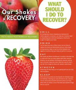 Trifold - Our Shakes and Recovery 50ct