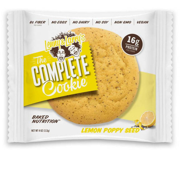 Lenny & Larry's Lemon Poppy Seed Cookie - 12ct