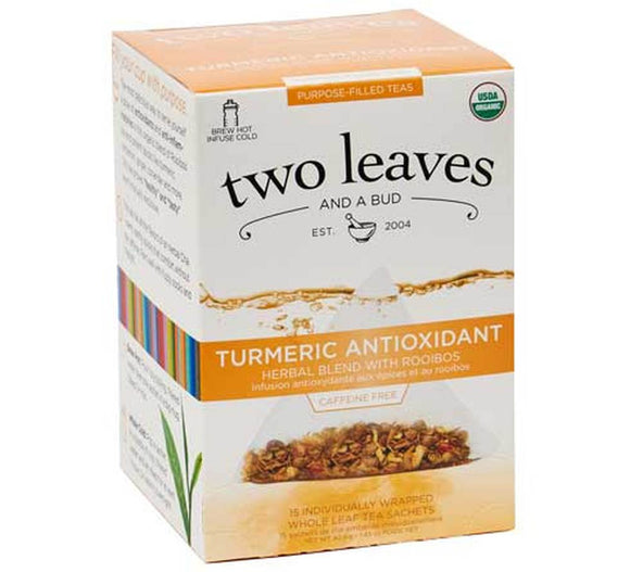 Organic Turmeric Antioxidant - Herbal Blend with Rooibos - 15ct