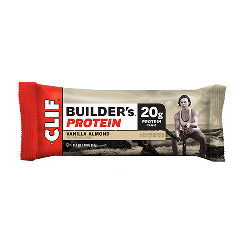 Clif Builders Bar Vanilla Almond - 12/box
