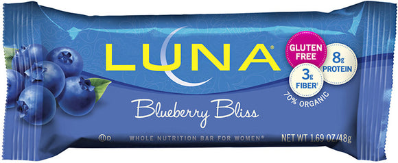 Luna Bar Blueberry Bliss - 15/case