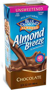 Almond Milk Chocolate Unsweetened - 12/32oz