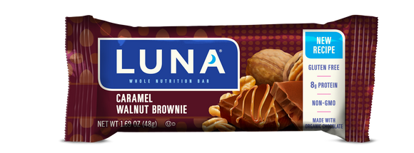 Luna Caramel Walnut  Brownie 15/box