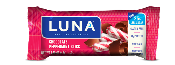 Luna Bar Chocolate Peppermint Stick - 15/case