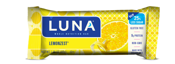 Luna Bar Lemon Zest - 15/case
