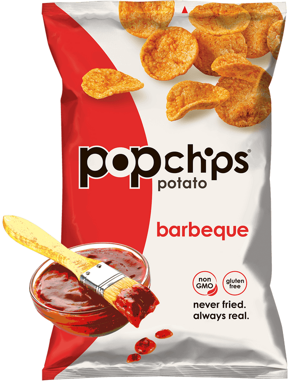 Pop Chips BBQ - 24/.8oz