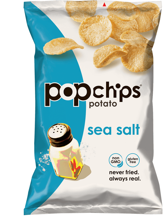 Pop Chips Sea Salt - 24/.8oz