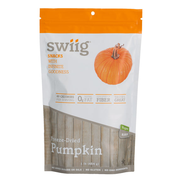 swiig Dried, Ground Pumpkin - 1lb bag