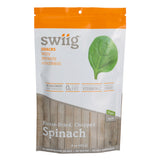 swiig Freeze-Dried, Chopped Spinach - 4oz bag
