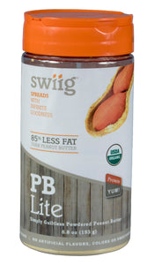 swiig Powdered Organic PB Lite Retail