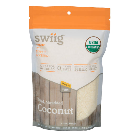 Organic Unsweetened Shredded Coconut - 12oz