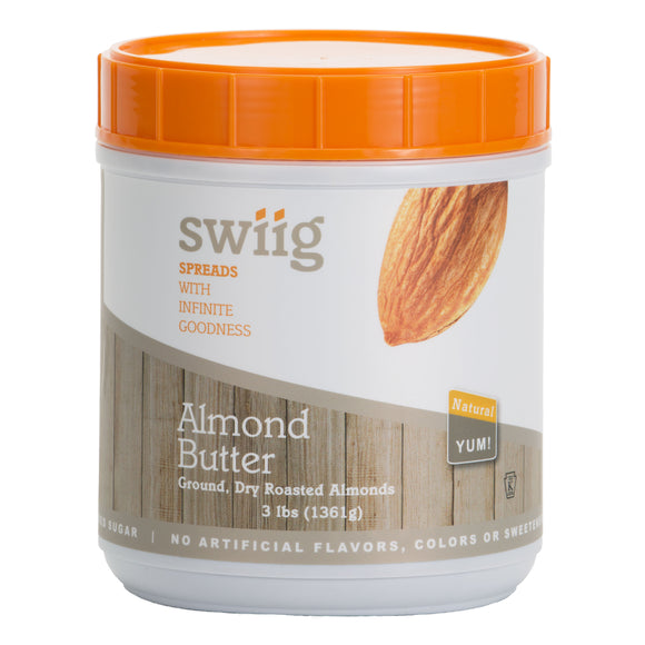 Almond Butter - 3lb Tub