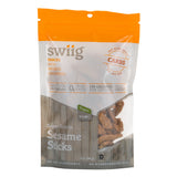 swiig Super Snacks - Sesame Sticks 3oz bags- 6/case