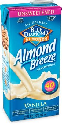 Almond Milk Vanilla Unsweetened - 12/32oz