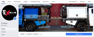 New TLX 4x4 FaceBook Page Launched!