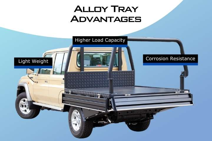 Alloy Tray Advantages for 4x4 in Perth WA