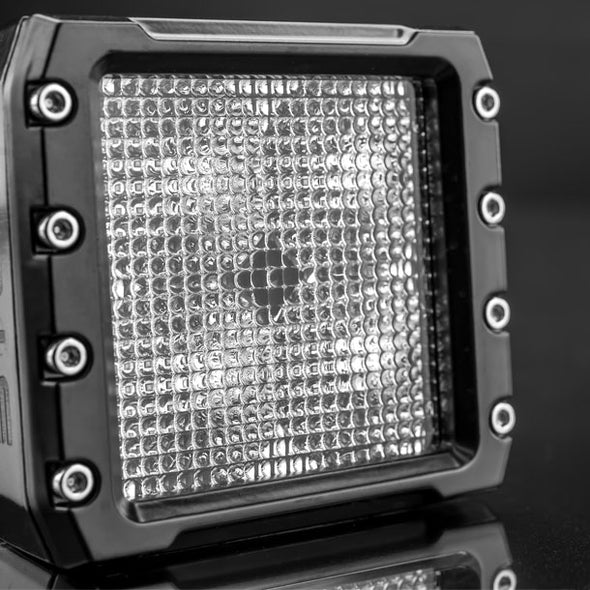 C-4 BLACK EDITION LED LIGHT CUBE | Diffuse Front View