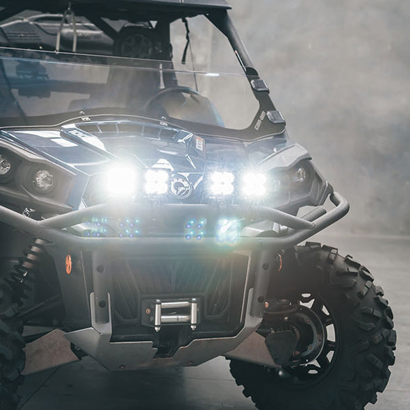 C-4 BLACK EDITION LED LIGHT CUBE | Diffuse fitted on 4WD Perth WA
