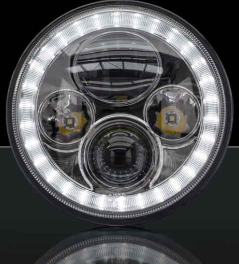 STEDI 7 INCH IRIS LED HEADLIGHT ADR APPROVED