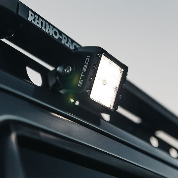 Stedi Cube LED Driving Lights fitted on 4x4 Perth WA