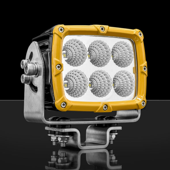Buy STEDI Shock 6 Mining Spec Flood LED Light - Yellow in Perth WA