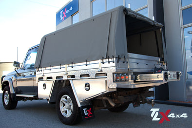 TLX Heavy Duty Alloy Tray - Single Cab