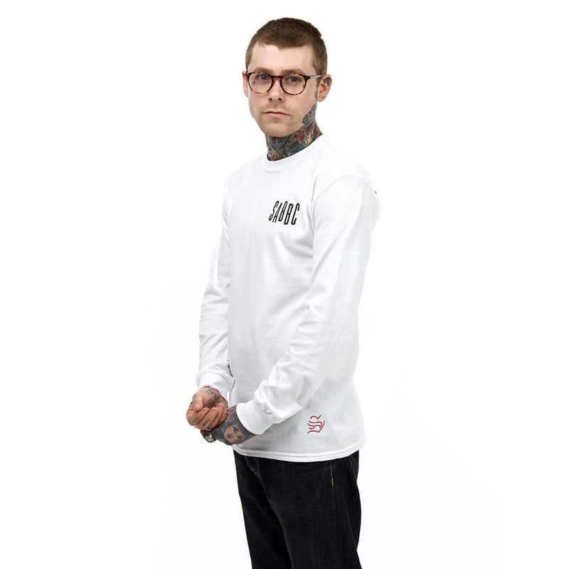 sabbc loves you long sleeve (white)