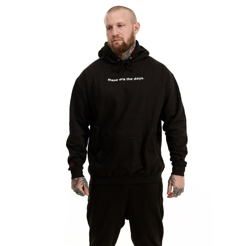 these are the days hoodie (black)