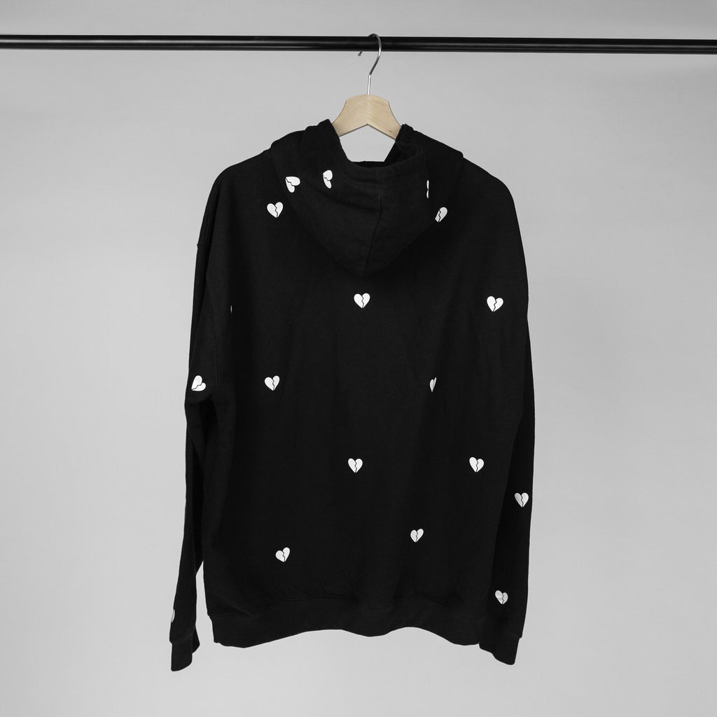 hurts all over hoodie (black)