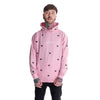 hurts all over hoodie (pink)