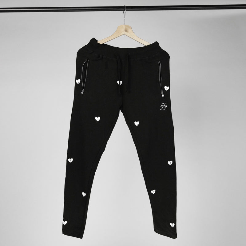 hurts all over joggers (black)