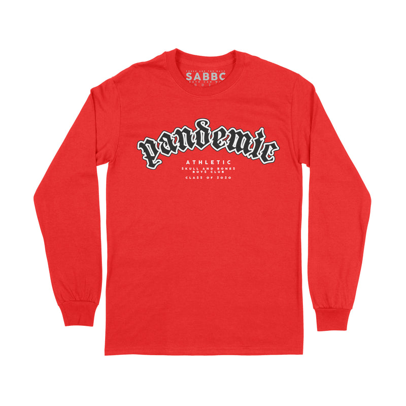 Pandemic Athletic  - Crewneck Red