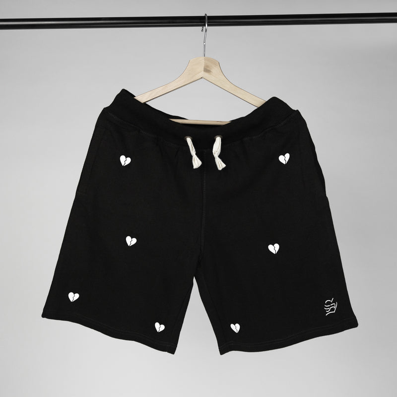 hurts all over shorts (black)
