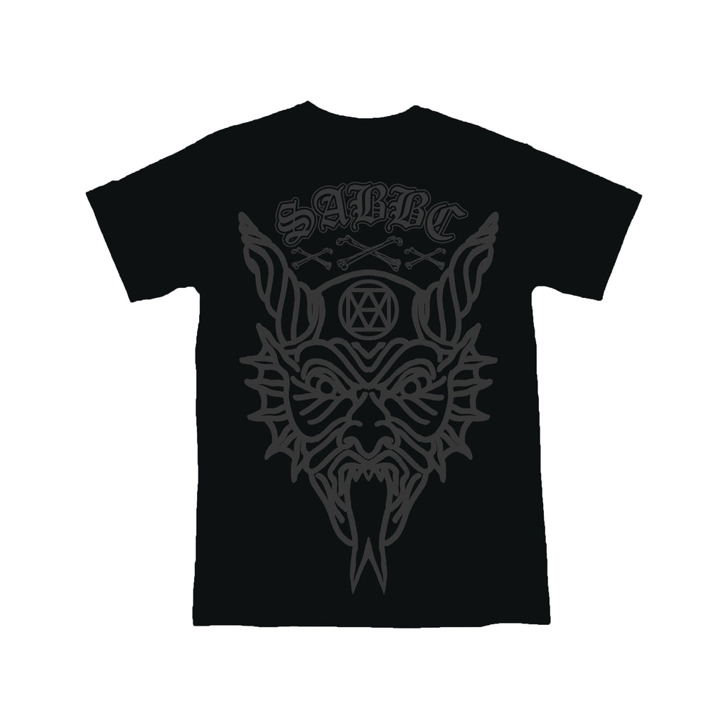 lucifer tee (black)
