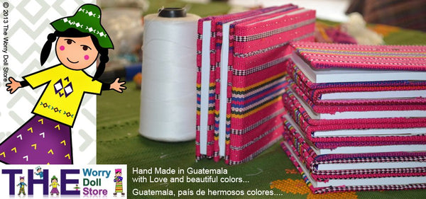 worry dolls notebooks colors for boys and girls