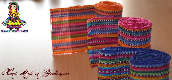 worry dolls fabric hand made in guatemala