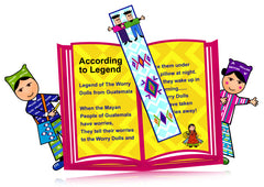 worry dolls bookmarks