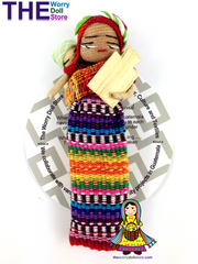 Worry Dolls Magnet Assorted 12cm