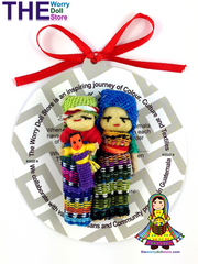 Worry Dolls Family Magnet