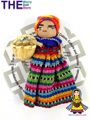 worry doll girl with basket