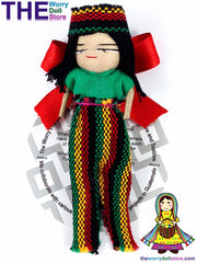 Rasta Worry Doll Boy 12cm