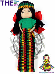Rasta Worry Doll Girl 12cm