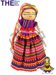 Worry Doll Girl 12cm with Story