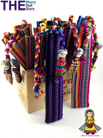mayan worry dolls bookmarks